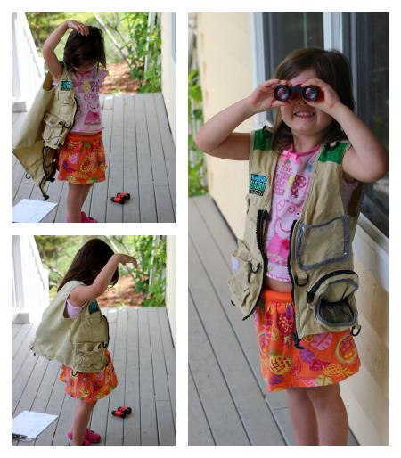 backyard safari dress up
