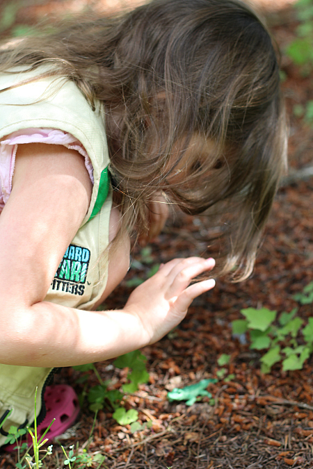 backyard scavenger hunt for kids