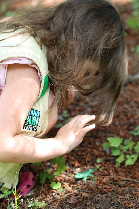 backyard scavenger hunt for kids