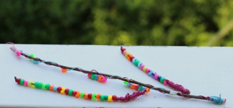 beaded fairy wands for kids