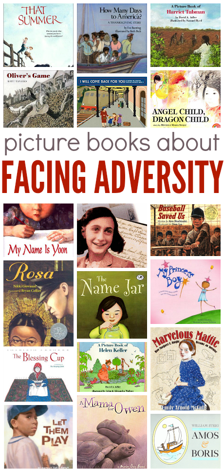 books about facing adversity for children