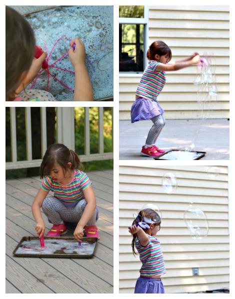 bubbles collage