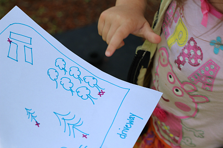 map activity for preschool