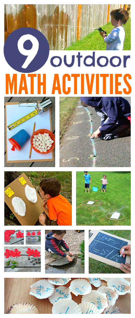 Outdoor Math Activities For Kids - No Time For Flash Cards