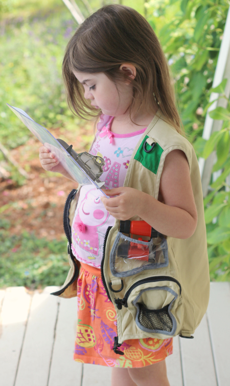 safari map activity for kids