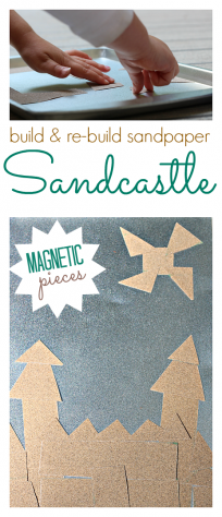 snadpaper craft for kids