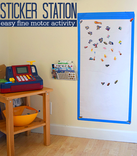 sticker station cover