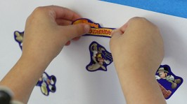 Sticker Station – Easy Fine Motor Activity