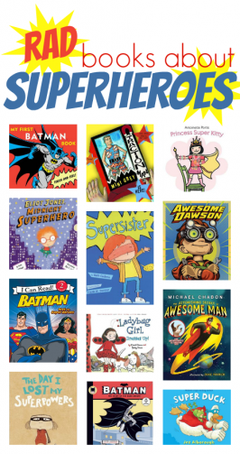 Books About Superheroes