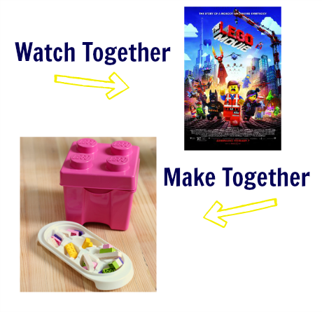 watch & make Lego movie