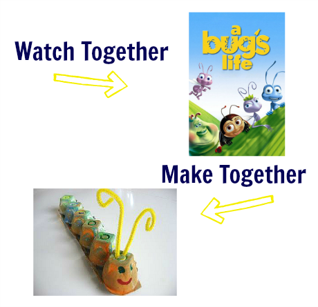 watch & make a bugs life craft