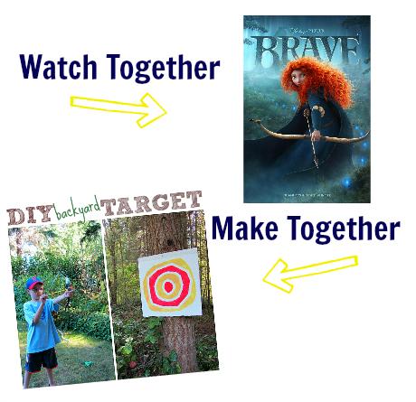 watch & make brave activity