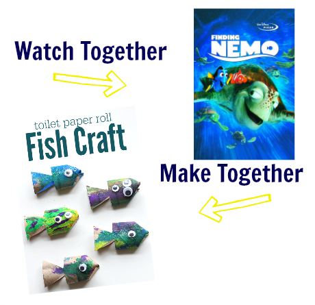 watch & make finding nemo