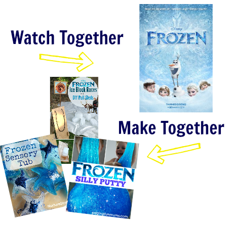 watch & make frozen activities for preschool