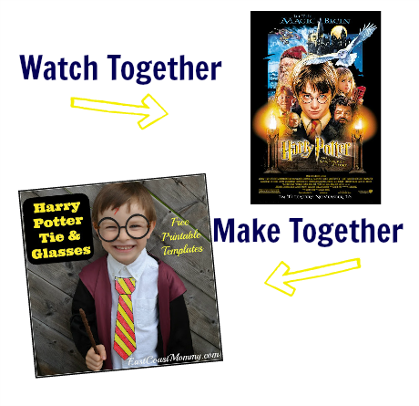 watch & make harry potter craft