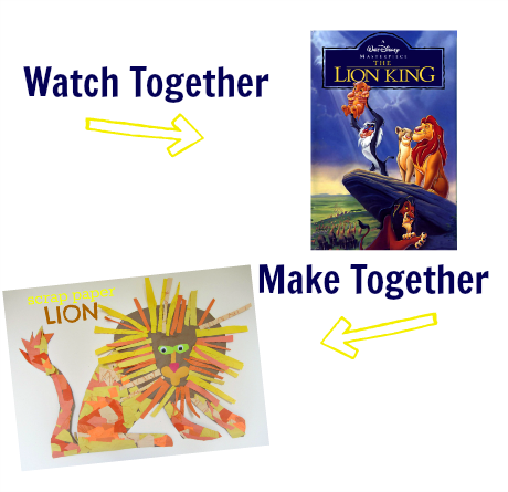 watch & make lion king