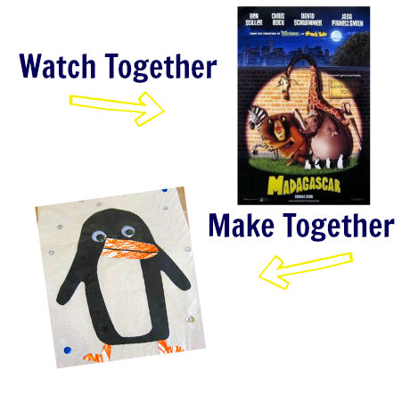watch & make madagascar craft