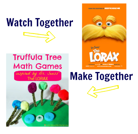 watch & make the lorax movie activity