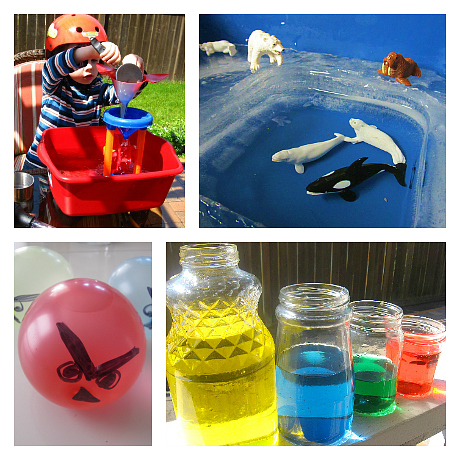 water activities for preschool
