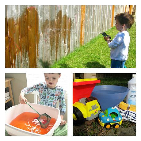 water learning activities