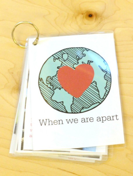 when we are apart photo book for kids