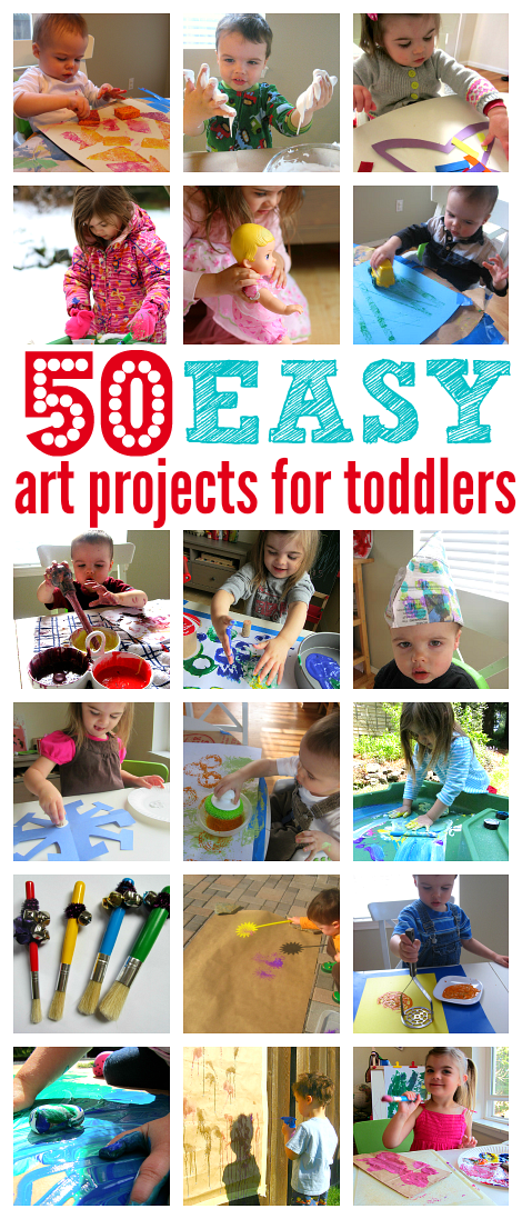 easy art projects for toddlers