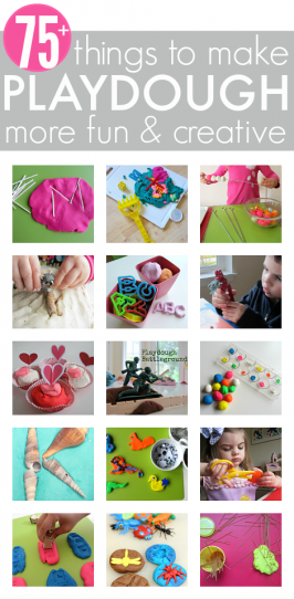 75+ Things To Add To Playdough To Make It More Fun