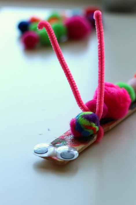 caterpilar craft for kids