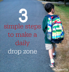 Be Prepared For School Every Day – Super Simple Drop Zone