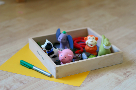 easy letter sound activity for preK