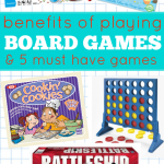 Benefits Of Board Games & 5 Great Games For Young Families