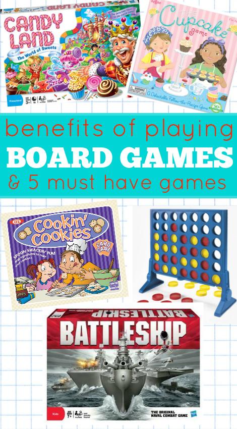 board games for preschool