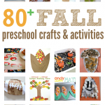 Fall Craft Ideas for Preschool { activities & book lists too}