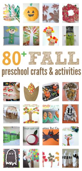 Fall Craft Ideas for Preschool { activities & book lists too}