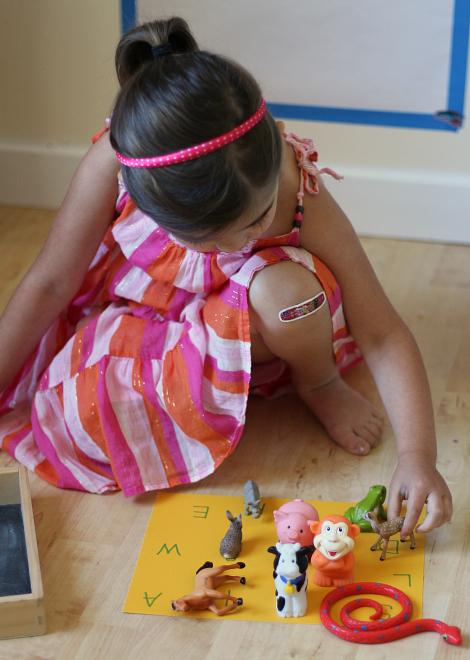 letter sound activity for children
