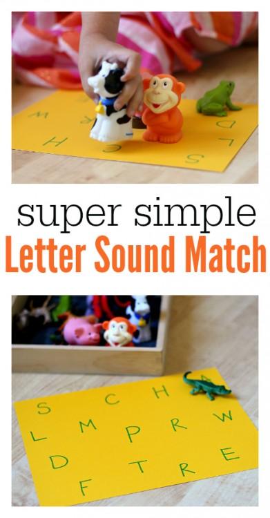 letter sounds hands on activity