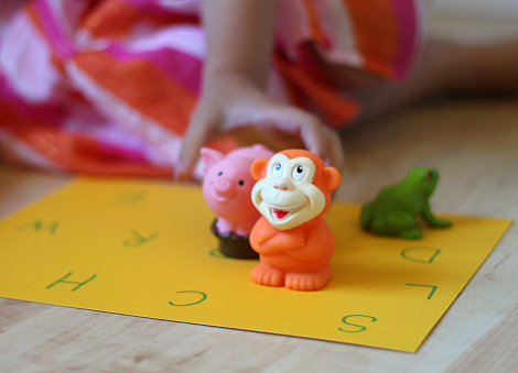 letter sound matching game for early literacy development