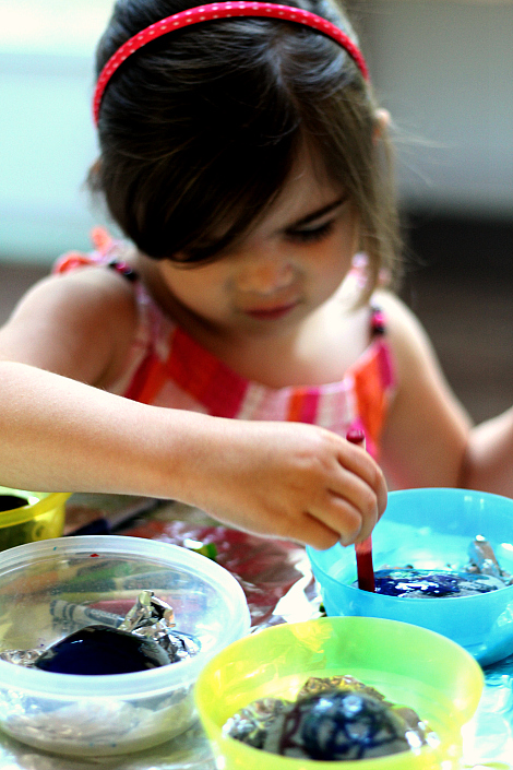 melted crayon art for kids