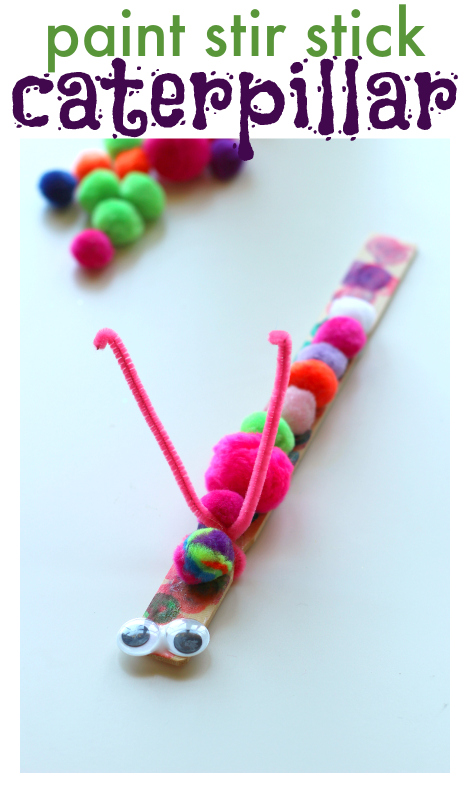 easy caterpillar craft for kids