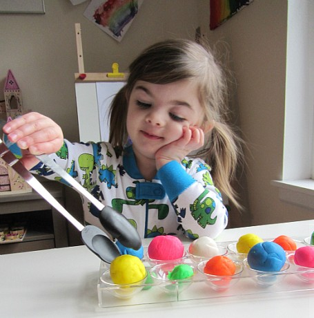 playdough activities for kids by no time for flash cards 4