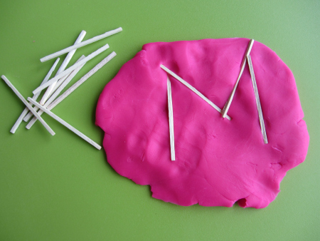 playdough letters 3