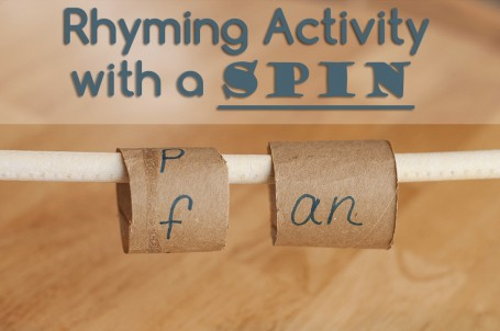 rhyming activity