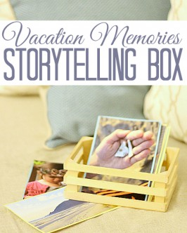 Storytelling Box With Photos