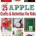 Apple Crafts & Activities For Preschool