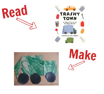 Read and Make cars and trucks 12