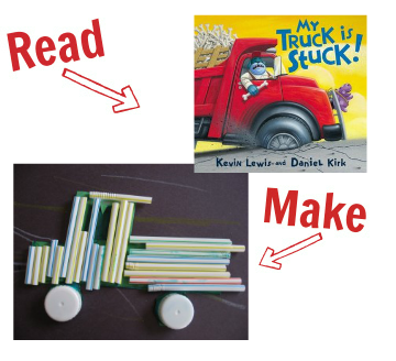 Read and Make cars and trucks 9