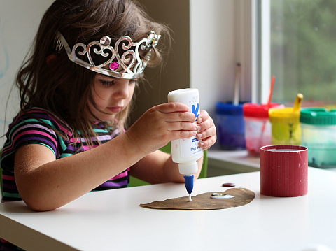 acorn fine motor craft for kids