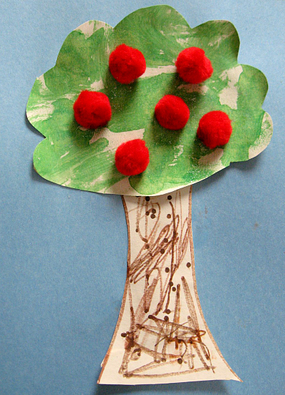 Pom Pom Crafts For Preschoolers