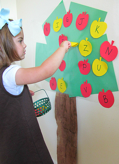 apple tree letters
