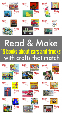 car and truck ideas for preschool